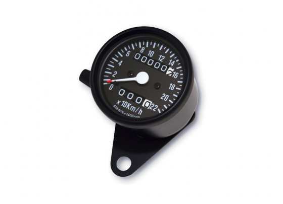 P&W Speedometer (black/white)