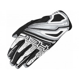 Held Guantes de moto Cross Track (blanco/negro)