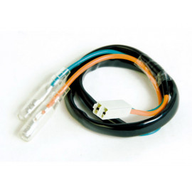 P&W Adapter Cable (Pair) for Turn Signals suitable for several Honda / Kawasaki-Models