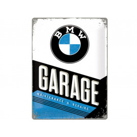 Nostalgic Arts BMW Garage Metal Sign (40x60cm)