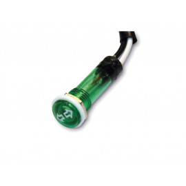 Shin Yo Control Light Motorcycle Turn Signal (green)