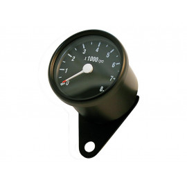 P&W RPM Counter 60mm 8.000 R/min (black)