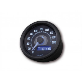 Daytona Velona Digital Speedometer (black) untill 200 km/h