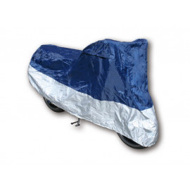 Shin Yo Motorcycle Cover M (blue/silver)