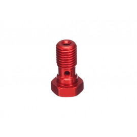 ABM Hollow Screw Alu M10x125 (red)