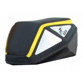 Hepco & Becker Royster Rear Bag (black/yellow)