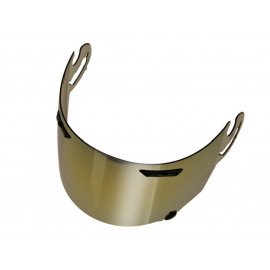 Arai SAI RX-7 GP / Quantum / Rebel / Chaser / Axces II Motorcycle Helmet Visor (gold mirrored)