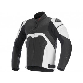 Alpinestars Core Motorcycle Jacket Men (black/white)