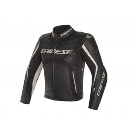 Dainese D-Air MISANO with Airbag Motorcycle Jacket (white / black)