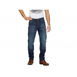 Rokker Straight Motorcycle Pants incl. T-Shirt (blue)