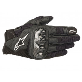 Alpinestars SMX-1 Air V2 Motorcycle Gloves (black)