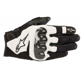 Alpinestars SMX-1 Air v2 Motorcycle Gloves (black / white)