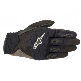 Alpinestars Shore Motorcycle Gloves (black / white)