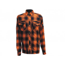 Bores Lumber Jack Shirt Kevlar (orange / black)