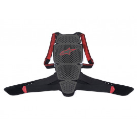 Alpinestars Nucleon KR-Cell Back Protector (grey / black / red)