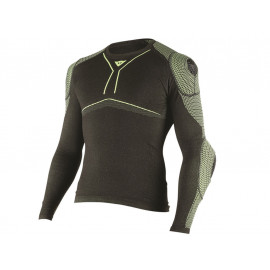 Dainese D-Core Armor Functional Underall Shirt Men (black/yellow)