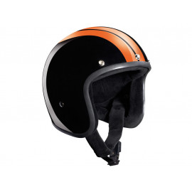 Bandit Jet Race (without ECE) Jet Helmet (black/orange)