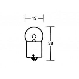 P&W Light Bulb 12V 10W BA15S