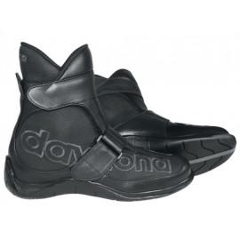 Daytona Botas de moto Shorty (negro)