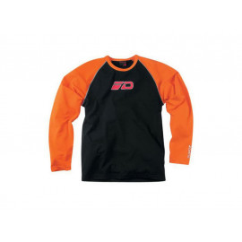 Dane Long Sleeve T-Shirt Caballero (naranja)