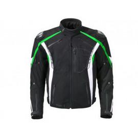 Germot Chaqueta de moto Eagle Caballero (negro/verde)