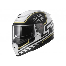 LS2 FF390 Breaker Casco integrale (negro/blanco)