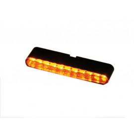 Highsider Stripe LED Motorcycle Turn Signal Set (tinted Glasse)