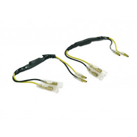 P&W Resistor with Adapter Cable (Pair) for LED Turn Signals 27 Ohm