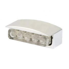 Shin Yo LED License Plate Light Mini (silver)