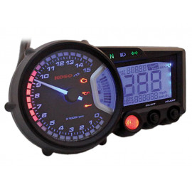 KOSO Digital Multifunction Cockpit RX2 with 5 Indicator lights