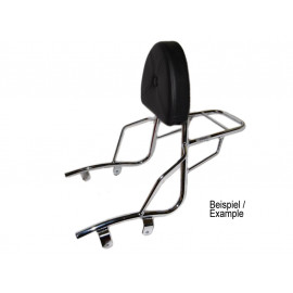 Hepco & Becker Sissy Bar with Rack Yamaha XVS 125/250 DragStar