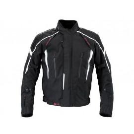 Germot Chaqueta de moto Supersport Caballero (negro/gris)
